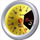 7-Color Oil Pressure Gauge
