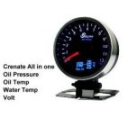 All In One Gauge Oil Pressure Gauge