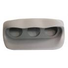 Fiberglass Triple Gauge Pod For Subaru GT 01-04