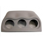 Fiberglass Triple Gauge Pod For Subaru GT 97-00