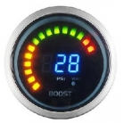 Digital Boost Gauge With Voltage