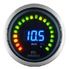 Digital Oil Pressure Gauge With Voltage