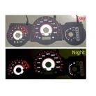 Black Face E.L. gauge Kit For Honda S-MX/STEP CRF Wagon 1.2
