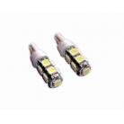 T10 Base SMD 5050 9pcs-LED Bulb