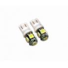 T10 Base SMD LED Bulbs-5pcs